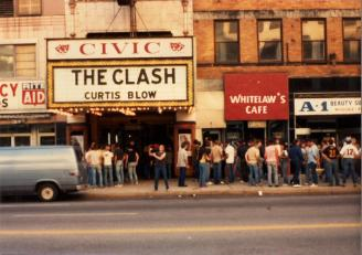 The Clash The Akron Civic Theater 17 August 1982