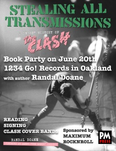 Randal Doane Clash Oakland poster